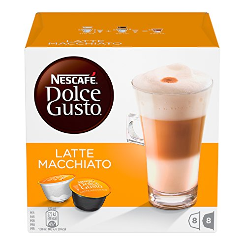 Nescafe Dolce Gusto Latte Macchiato (Pack of 6)–96Capsules) 51BokP8q 2B5L