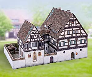 "aue-verlag 30x 19x 19cm Kit de modelo ""Medieval Hospital En blaubeuren"