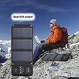 Welltobuy 21W 5V Sac À Dos Ordinateur Portable USB Port De Charge Durable Étanche Multifonctions Sac À Dos Solaire pour Camping Randonnée