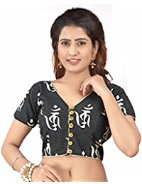 4bf5400c19416 Amazon.in  Blacks - Blouses   Ethnic Wear  Clothing   Accessories