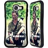 Officiel AMC The Walking Dead Squat Rick Grimes Étui Coque Hybride pour Samsung Galaxy A5 (2016)