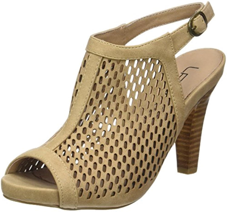 Zapatos De Tacón Alto De Mujer Romana Sandalias Cruzadas De Correa De Pescado Sandalias De Punta Abierta De Palabra Para Los Clubes De Boda De Fiesta EU:38/UK:5.5|Black