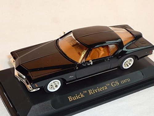 buick-riviera-gs-1971-coupe-schwarz-oldtimer-1-43-yatming-modellauto-modell-auto