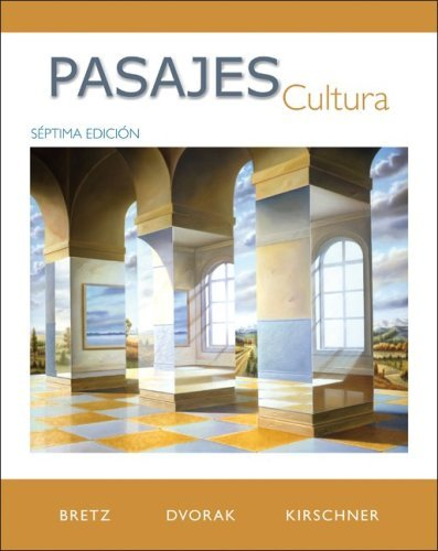 Pasajes: Cultura by Mary Lee Bretz (2009-01-16)