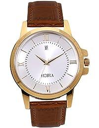 Horra Classik Series Silver Dial Analog Watch For Men - PB817MLS21