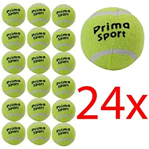 24 X TENNIS BALLS SPORT PLAY CRICKET DOG TOY BALL OUTDOOR FUN BEACH LEISURE NEW (Packaging May Vary) Review 2018
