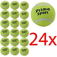 24 X TENNIS BALLS SPORT PLAY CRICKET DOG TOY BALL OUTDOOR FUN BEACH LEISURE NEW (Packaging May Vary)