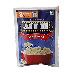 Act II Instant Popcorn - Classic Salted, 40g Pouch