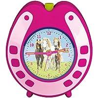 Horse Amici orologio con sveglia, 11 x 13 x 5 cm, Model # 11662