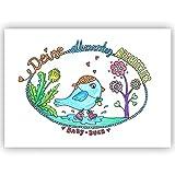 Babyalbum - Deine ersten Abenteuer - Erinnerungsalbum Album Meilensteine Babybuch Babys erstes Jahr Baby Erinnerung Geschenk zur Geburt Babyshower Schwangerschaft Junge Mädchen Tagebuch Babytagebuch