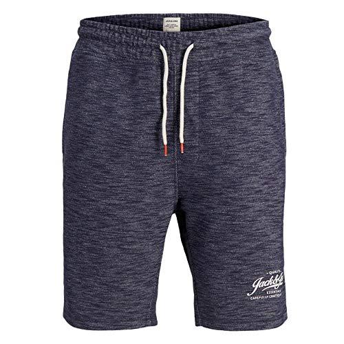 JACK & JONES Herren Sweat Shorts Trainingsshorts (XXL, Navy Blazer)