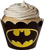 Unbekannt Batman Avengers-KuchenVerpackungen (24 Lieferumfang Enthalten)