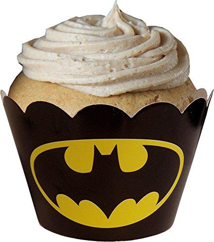 (Unbekannt Batman Avengers-KuchenVerpackungen (24 Lieferumfang Enthalten))