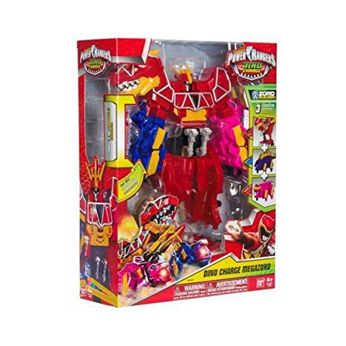 """Image of Power Rangers """"Dino Supercharge Deluxe Plesio Charge Megazord (43095)"""