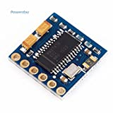 Powerday Mini OSD Module KV-Team MOD for Racing F3 CC3D Naze32 Flight Controller by Powerday