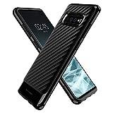 Spigen 606CS25773 Neo Hybrid für Samsung Galaxy S10 Plus Hülle, Zweiteilige Handyhülle Modische Muster Silikon und PC Rahmen Schutzhülle Case Shiny Black