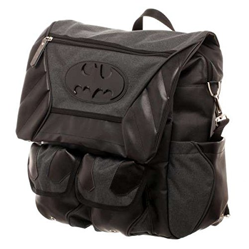 DC Comics Backpack Batman Costume Inspired Utility Bag Bioworld Bags