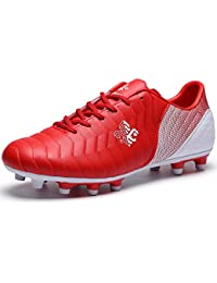 Amazon.co.uk: Red Football Boots Sports & Outdoor Shoes
