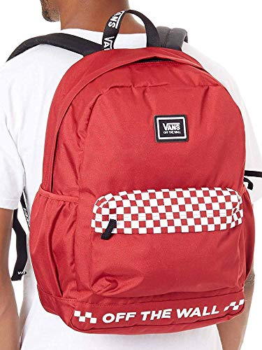 VANS - MOCHILA - WM SPORTY REALM PLUS SCOOTER - ROJO (TALLA UNICA)