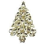 EXKLUSIVE Weihnachtsbaumbrosche Tannenbaum LIGHTNING STAR von Lemper Accessoires
