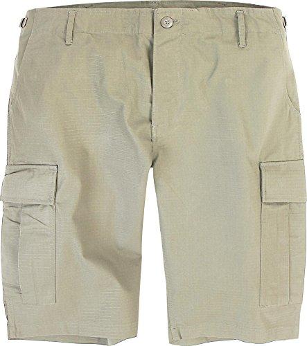 Herren US Bermuda Cargo Shorts aus Ripstopgewebe Khaki