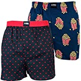 Happy Shorts 2 Webboxer Herren Boxer Motiv Boxershorts Farbwahl, Grösse:L - 6-52, Präzise Farbe:Design 9