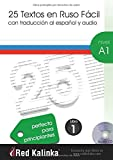 25 texts in Russian easy. A1 level. 1 Book: Texts with audio for Russian students