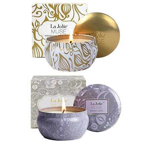 Photo de la-jolie-muse-bougies-parfumees-noel-coffret-cadeau