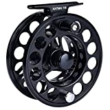 KastKing Katmai Waterproof Fly Fishing Reel, Large Arbor Fly Fishing Gear, Sealed Drag, Forged Aluminum (Black, 3/4 74mm dia.)