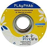 3D Printlife PLAyPHAb 1,75mm Blau PLA/PHA Mischung 3D-Drucker Filament, Maßhaltigkeit <+/- 0,05 mm, Blau - gut und günstig
