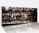 Acrylglasbild 100x40cm Bar Alkohol Disko Nachtleben Party Acrylbild Glasbild Acrylglas Acrylglasbilder 14A1236, Acrylglas Größe1:100cmx40cm