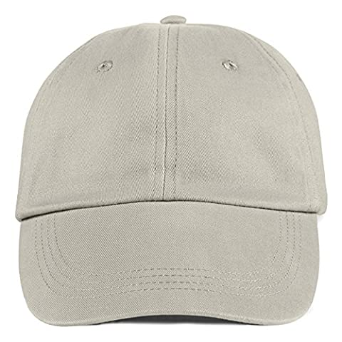 Anvil Contrast Low Profile Twill Cap Six Panel Unconstructed Sweatband (Wheat)