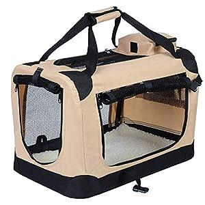 EUGAD EHT465 Cage de Transport en Oxford Sac de Transport Pliable pour Chien ou Chat,7 Couleurs