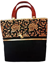 Marigold -Women's Traditional And Ethnic Black Color Bag Pack Of One (black BL30039)