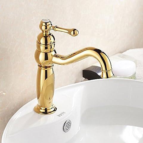 Furesnts casa moderna cucina e bagno rubinetto Unione oro rame