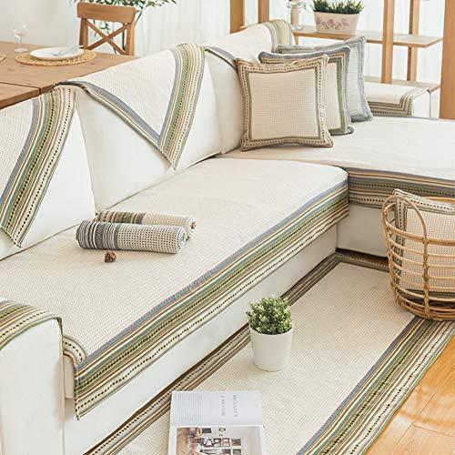 J&dsk divano copertina 1 2 3 4 posti sfoderabile divano letto estraibile elasticizzato protettore di divano tessuto elastico per tappeto camera da letto soggiorno -1 pezzo-b 110x180cm(43x71inch)