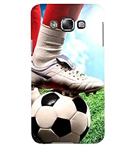 Printvisa Footballer Starting The Action Back Case Cover for Samsung Galaxy A8::Samsung Galaxy A8 A800F