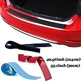Auto Kofferraum Schutz Strip Bumper Kantenschutz Gummi Zierleiste hinten Heckklappe Guard