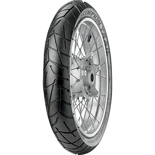 Pirelli Scorpion Trail - 100/90 R19 57s Fraise - A/A/70 DB - Pneu de moto