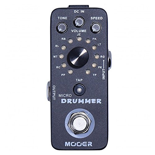 Mooer Micro Drummer Digital Drum Machine