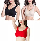 #5: Lady Heart Air Sports Bra, Pack of 3(Free Size, Size of 28 to 36)