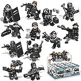 Spieland Mini Figuren Minifiguren Set - SWAT Armee Minifiguren Spielzeugauto Spielzeug Geschenk Pädagogisches Kinder