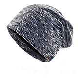 MMJ Die Wintermütze aus Wolle ist warm und bequem und eignet sich für Männer und Frauen (Farbe : Marine, größe : M)