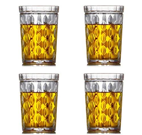 YYCDD Bleifreie Kristallglasschale, kreatives Haushaltswasserglas, Whiskyglas, Bierkrug Weinset,...