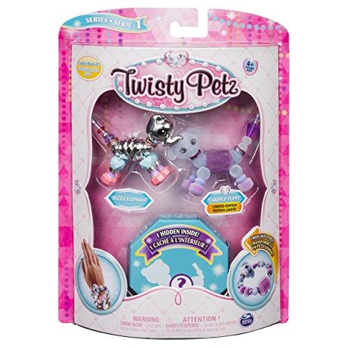 Twisty Petz Braccialetti Collezionabili Assortiti, Confezione da 3 Pezzi, 6044203