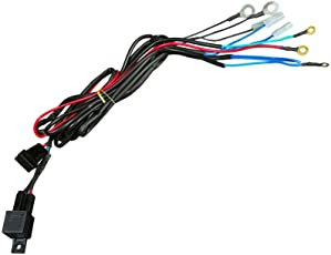 Hella 329.318-001 Horn Relay with Wiring Harness