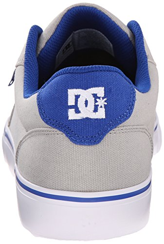 DC Shoes Anvil Tx, Chaussures basses hommes gris/bleu