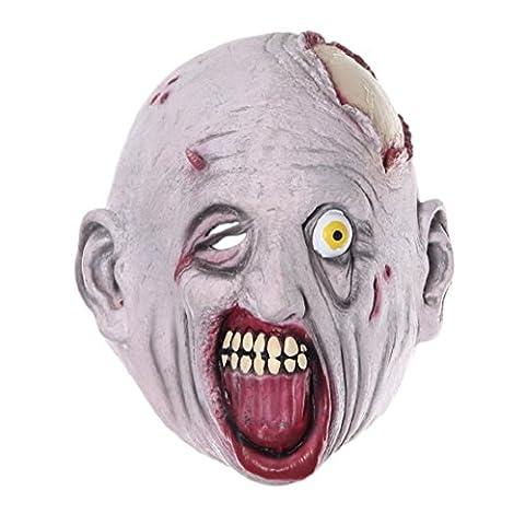 Fami Halloween Party cosplay Coiffe Terror Mask Sick Freak Head