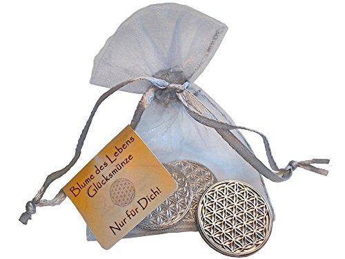 enerchrom-blume-des-lebens-glcksmnze-als-glcksbringer-lebensblume-talisman-metall-farbe-silber-3-stc