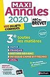 Maxi-Annales ABC du Brevet 2020...